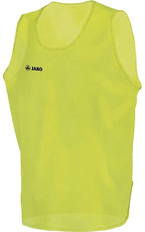 JAKO Dorośli koszulka identyfikacyjna Active, żółta neonowa, L