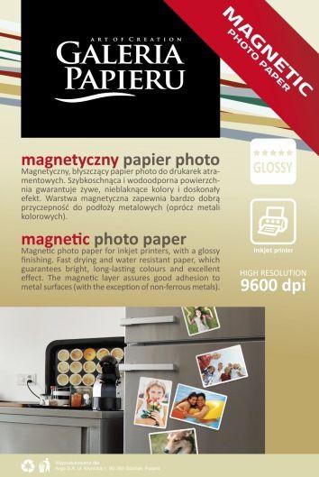 Papier photo magnetyczny 10x15cm