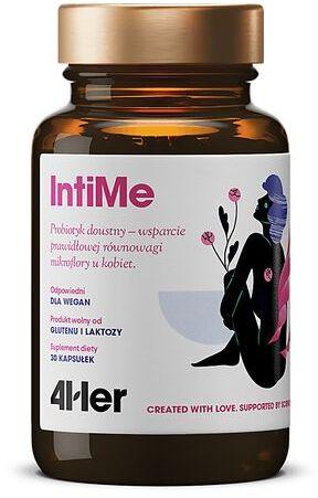 Health Labs Care IntiMe - Probiotyk na dolegliwości intymne - 30 kapsułek