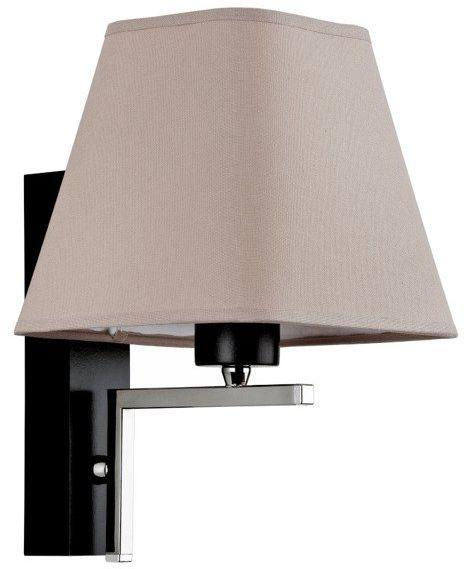 Nowoczesna lampa ścienna LEFKADA I szary śr. 20cm