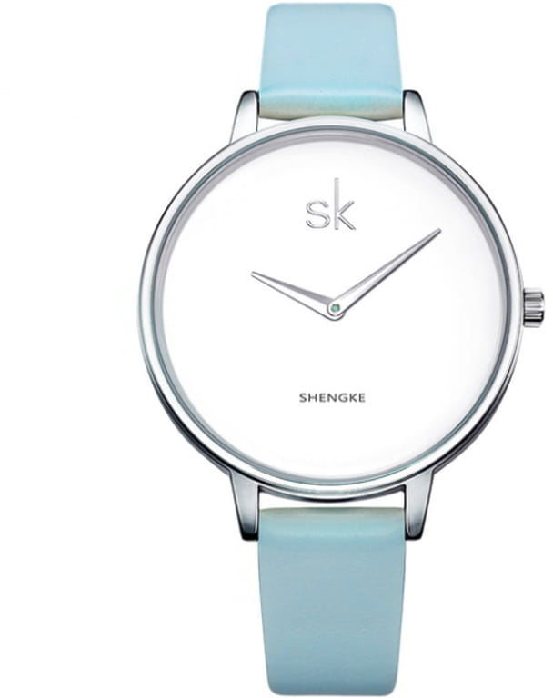 Damski zegarek SK - cyjan
