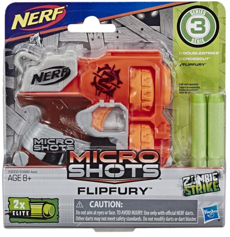 Wyrzutnia Nerf Microshots Flipfury