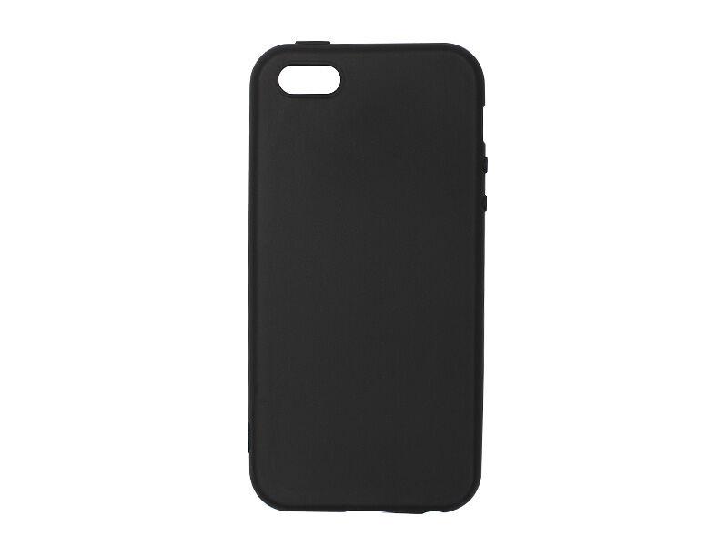 Apple iPhone 5S - etui na telefon Soft Flex - czarny