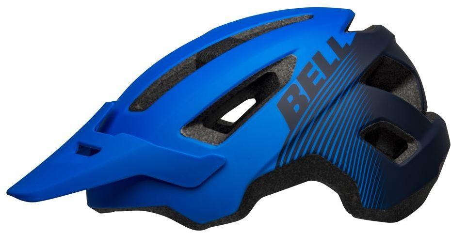 BELL kask rowerowy mtb VERT matte black dark blue BEL-7131894 Rozmiar: 54-61,BEL-7131894