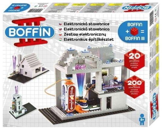 Zestaw małego elektronika Boffin III - Bricks - Budynek
