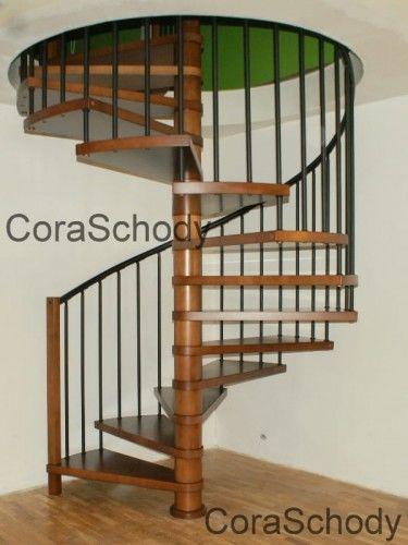 Schody kręcone CORA model Berlin 180 cm