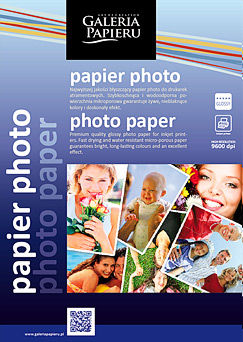 Papier photo glossy 180 g/m2 13x18cm