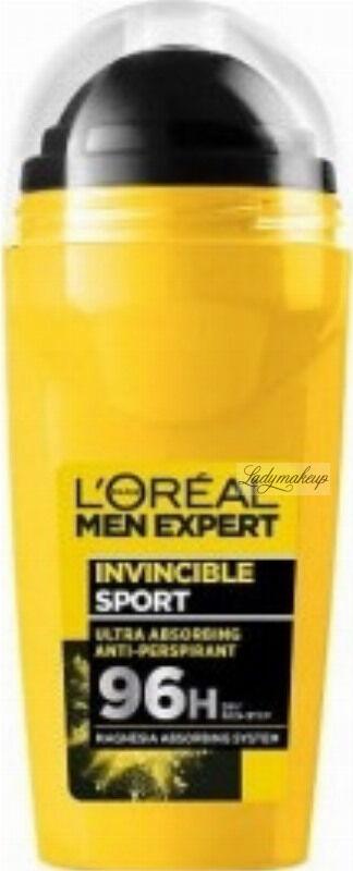 L''Oreal - MEN EXPERT - INVINCIBLE SPORT ANTI-PERSPIRANT 96H - Antyperspirant w kulce dla mężczyzn - 50 ml