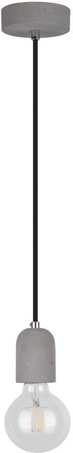 Spot Light 9779136 Amory lampa wisząca industrialna beton szary/ czarny 1xE27 60W 6cm