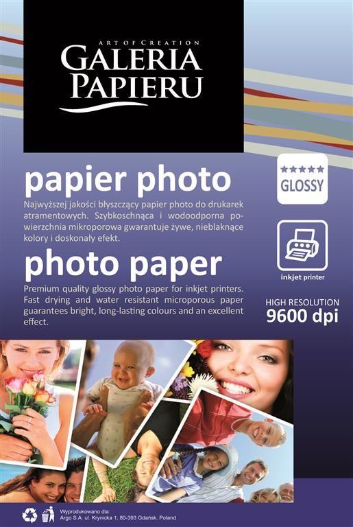 Papier fotograficzny, Photo Glossy, 10x15 cm, 180g, 50 szt.