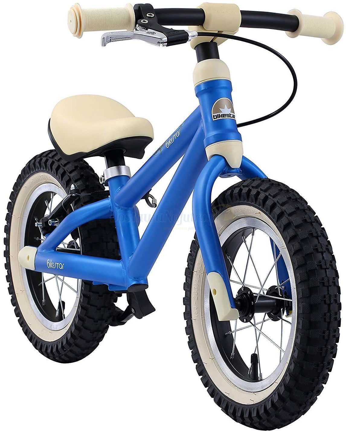 """rowerek biegowy MTB 12"""" BIKE STAR GERMANY niebieski"""