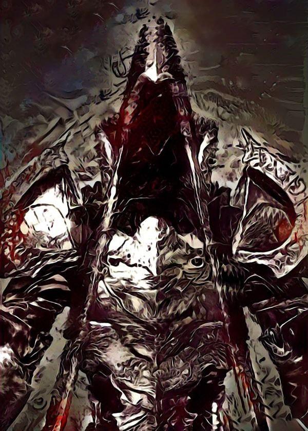 Legends of bedlam - malthael, diablo - plakat wymiar do wyboru: 20x30 cm