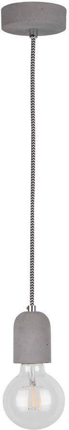 Spot Light 9774136 Amory lampa wisząca retro beton szary 1xE27 60W 6cm