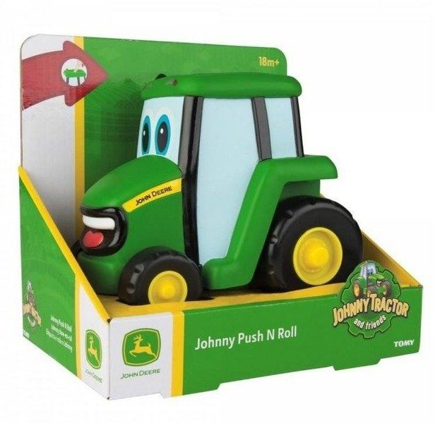 John Deere traktor naciśnij i jedź TOMY