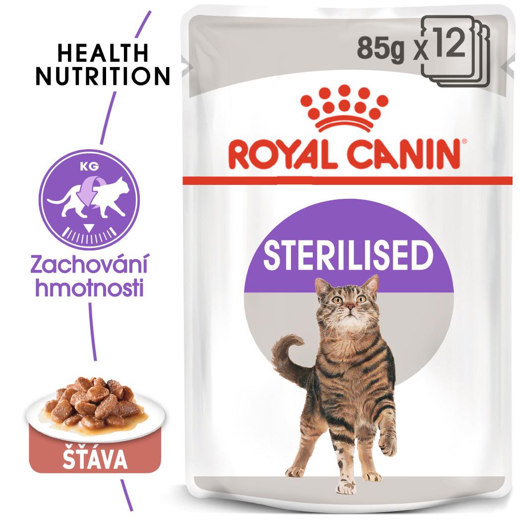 Royal Canin cat saszetka STERILISED w sosie