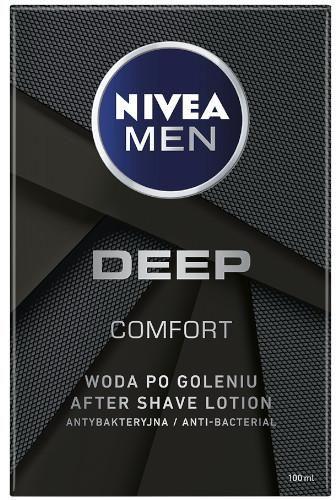 Nivea Men Deep woda po goleniu 100 ml