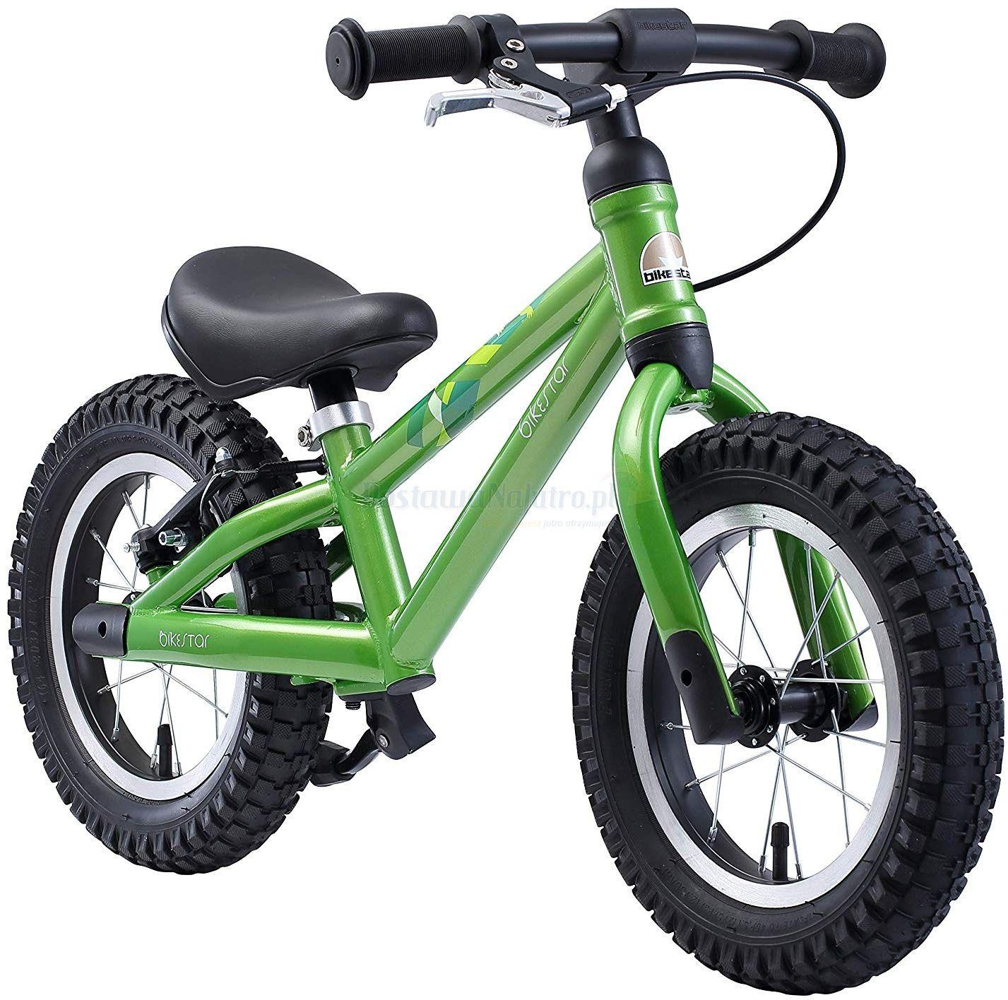 """rowerek biegowy MTB 12"""" BIKE STAR GERMANY zielony"""
