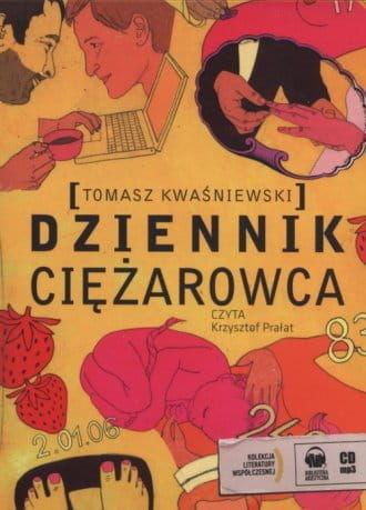 Audiobook- Dziennik ciężarowca Czyta: Krzysztof Prałat (CD mp3)