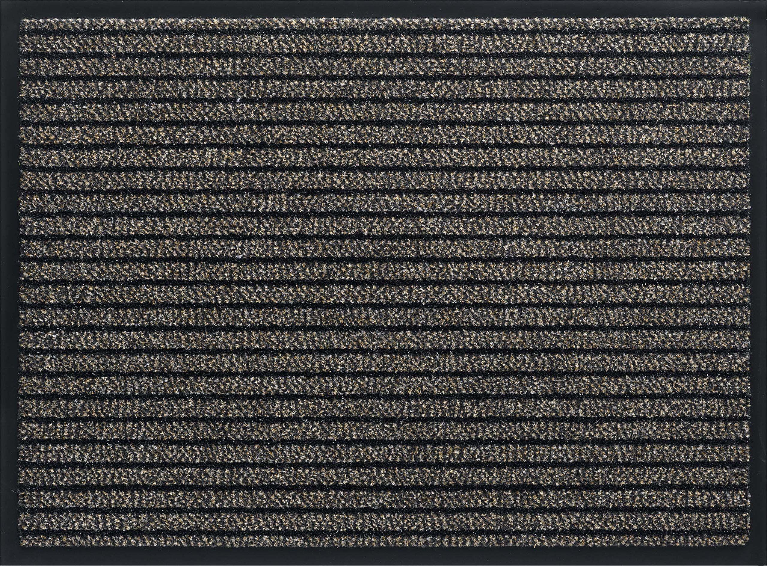 ID mat t 608010 gramat dywan wycieraczka włókno polipropylen/PVC brązowy 80 x 60 x 0,8 cm