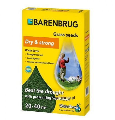 Trawa Barenbrug Odporna na Suszę Water Saver Dry & Strong 15kg