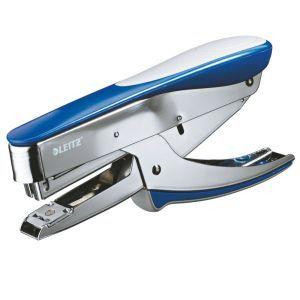 Zszywacz LEITZ nożycowy 5548 metaliczny niebieski - X08207