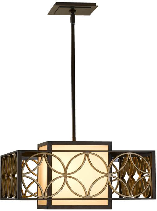 Lampa wisząca Remy FE/REMY/P/B Feiss dekoracyjna oprawa w klasycznym stylu