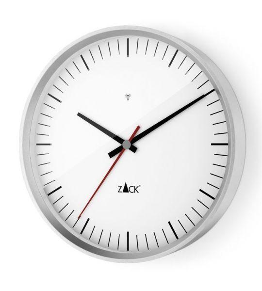 Zack VIDA Zegar Ścienny Sterowany Radiowo 30 cm - Biały