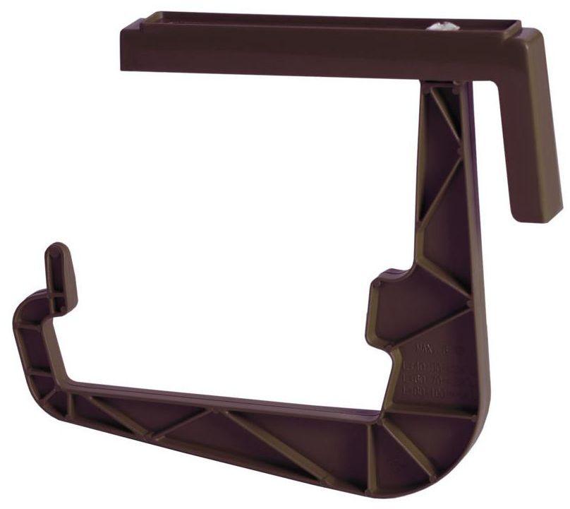 Uchwyt do skrzynek balkonowych IWWS brązowy