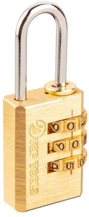 Kłódka szyfrowa do bagażu 21 mm kod 3-cyfrowy 90U212