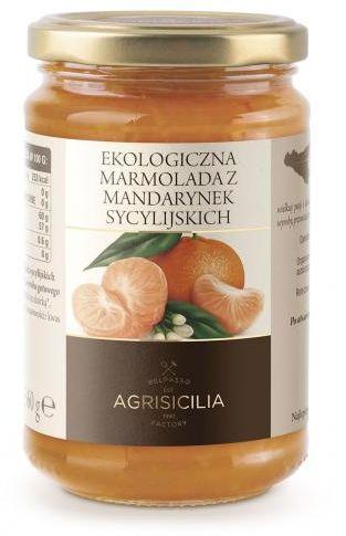Marmolada z mandarynek sycylijskich BIO 360g Agrisicilia
