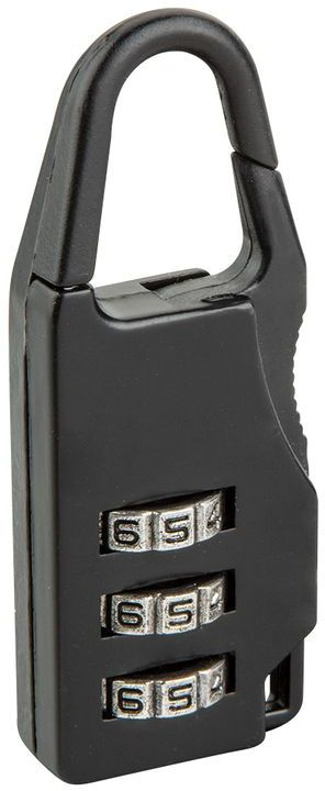 Kłódka szyfrowa do bagażu 22 mm kod 3-cyfrowy 90U214