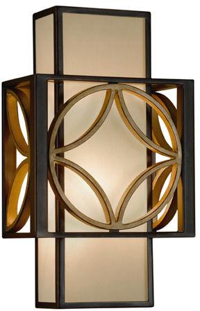 Kinkiet Remy FE/REMY1 Feiss dekoracyjna oprawa ścienna w kolorze brązu