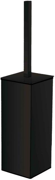 Szczotka wc wolnostojąca kwadratowa 19.208-B czarna Stella
