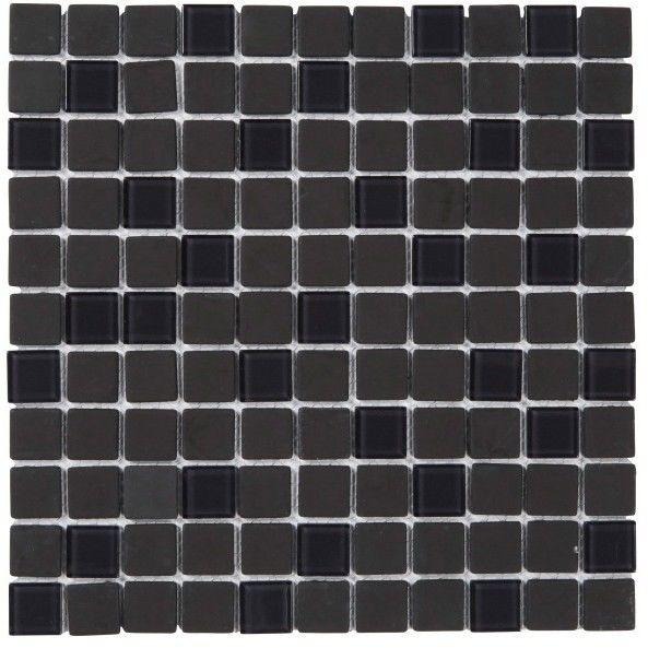 Mozaika Genovia Colours 30 x 30 cm czarna