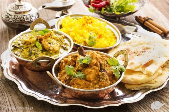 Indyjska kolacja dla Dwojga w Toruniu