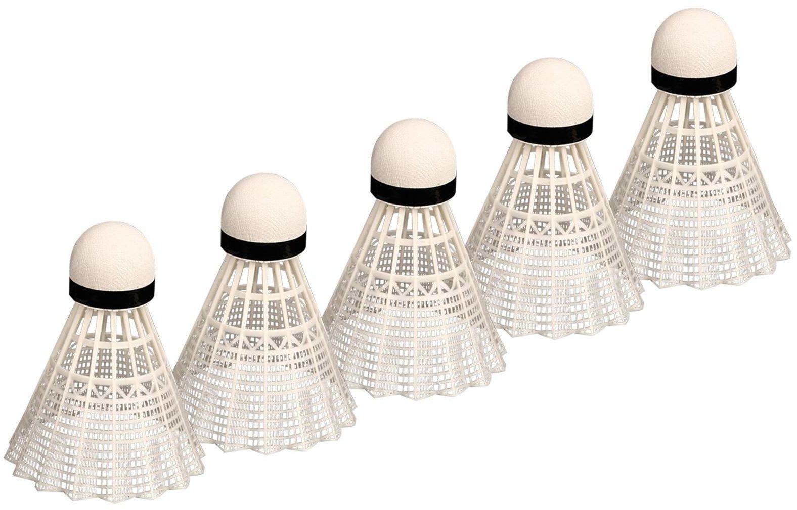 Lotki do badmintona białe Avento x5