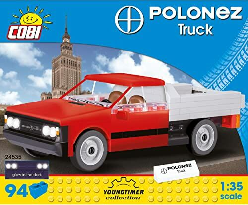 Cobi COB24535 FSO Polonez Truck 1,6 (94 szt.) zestaw modelowy zbudowany z cegły