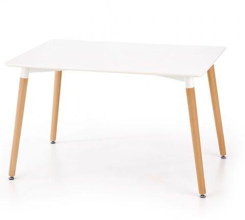Stół SOCRATES biały buk w stylu skandynawskim  KUP TERAZ - OTRZYMAJ RABAT