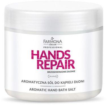 HANDS REPAIR Aromatyczna sól do kąpieli dłoni 500g