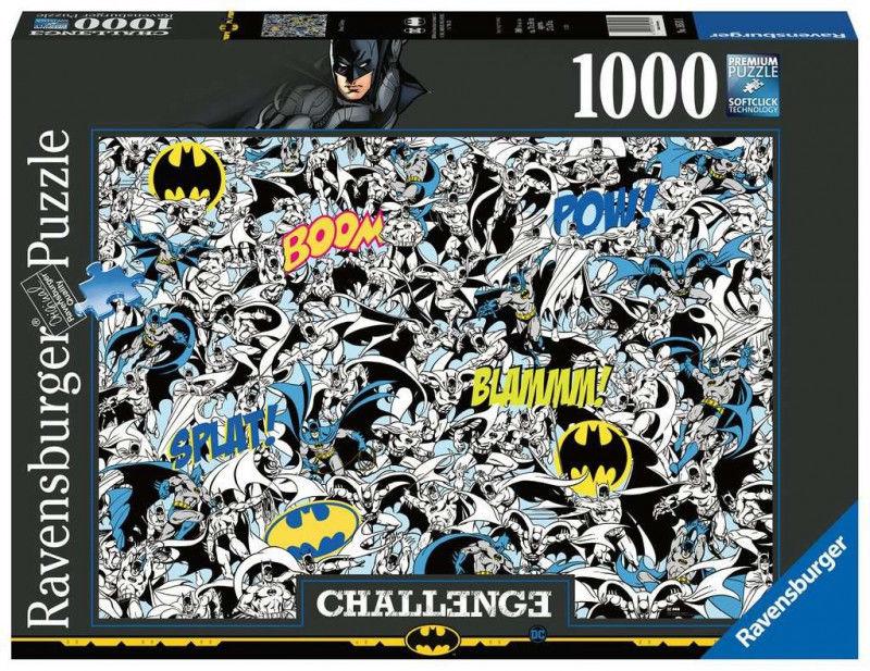 Puzzle 1000 elementów Challange, Batman (GXP-761208)