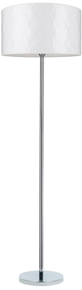 Spot Light 6591028 Maxima lampa podłogowa chrom/transparentny klosz biały 1xE27 60W 166cm