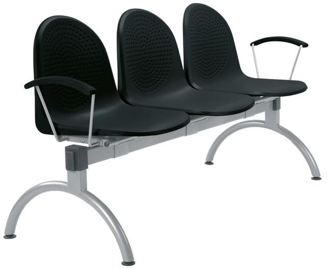 Krzesło AMIGO ARM-3 - do poczekalni i sal konferencyjnych, konferencyjne, na nogach, stacjonarne