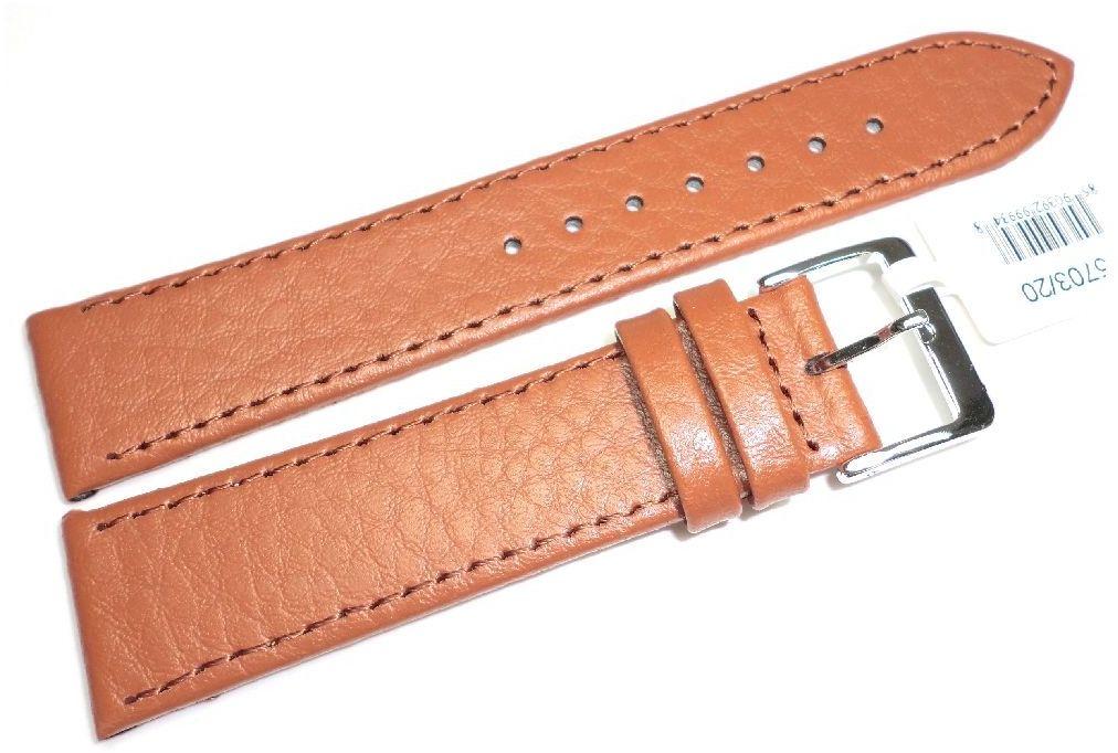 Skórzany pasek do zegarka 20 mm JVD R15703-20