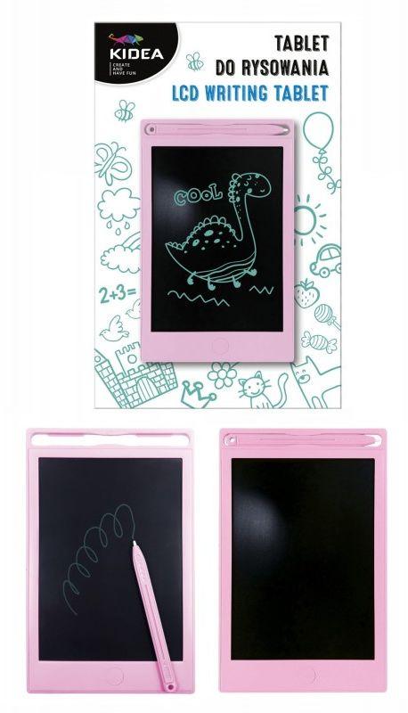 Tablet do rysowania różowy Kidea 6049-TABLET-KIDEA