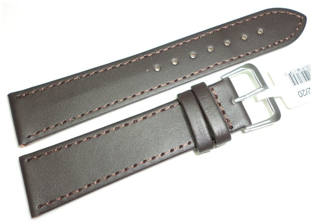 Skórzany pasek do zegarka 20 mm JVD R17602-20