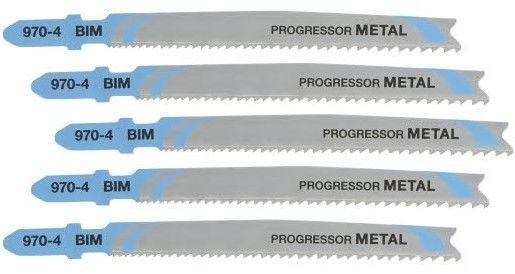 brzeszczoty do cięcia metalu, do wyrzynarek, 100mm, 5szt. Progressor DeWalt [DT2058-QZ]