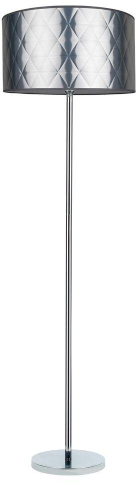 Spot Light 6593028 Maxima lampa podłogowa chrom/transparentny klosz srebrny 1xE27 60W 166cm