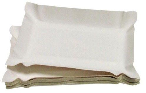 Papierowe talerzyki tacki grillowe 14x20cm 20 sztuk D2902