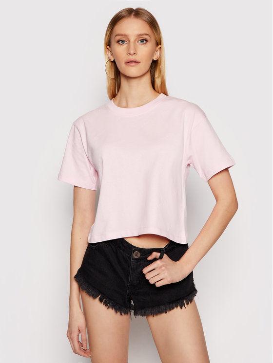 Guess T-Shirt Astra O1GA10 I3Z11 Różowy Regular Fit