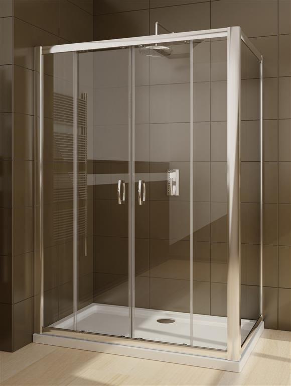 Kabina prysznicowa Radaway Premium Plus DWD+S 180 drzwi x 75 szkło przejrzyste wys. 190 cm. 33373-01-01N/33402-01-01N